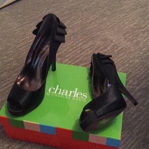 Charles by Charles David peep toe heals